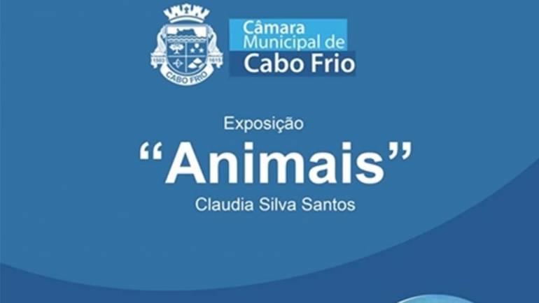 """CÂMARA RECEBE EXPOSIÇÃO """"ANIMAIS"""" NO CORREDOR CULTURAL TORRES DO CABO"""