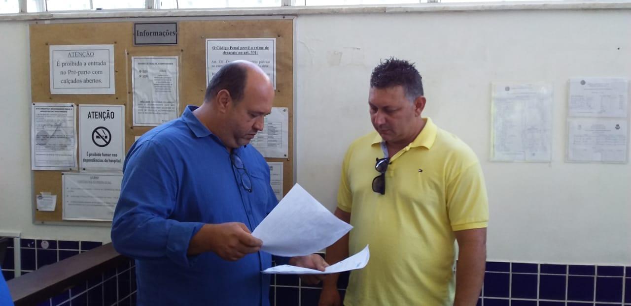 Vereadores da CPI do Hospital da Mulher fazem visita a unidade