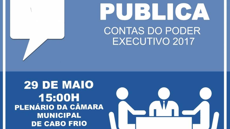 Câmara promove Audiência Pública para esclarecimento de contas do Executivo