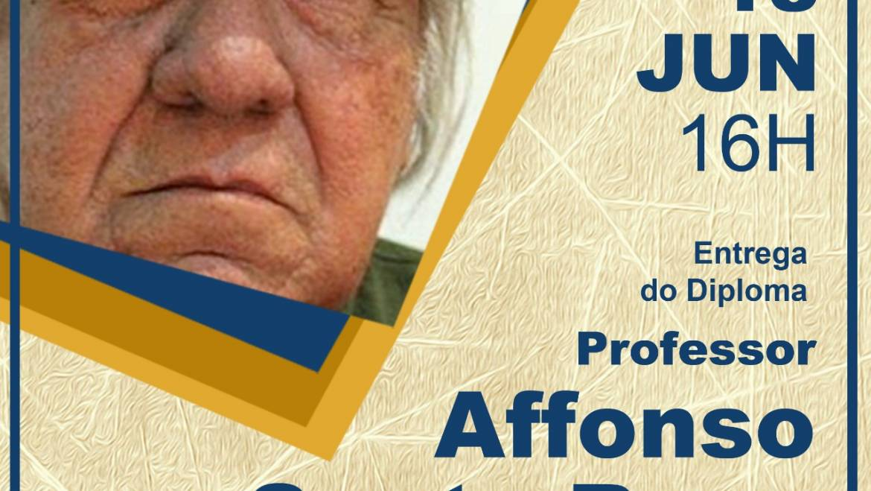 Câmara homenageia artistas com Diploma Afonso Santa Rosa