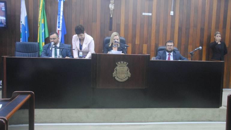Sessão ordinária, 03 de outubro de 2019.
