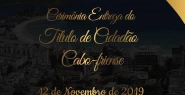 Comemoração pelos 404 anos de Cabo Frio terá sessão solene na Câmara Municipal nesta terça-feira (12)